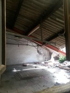 THT Sloop ingestort garagedak