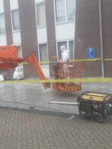 Werken op hoogte Clevers Asbestsanering