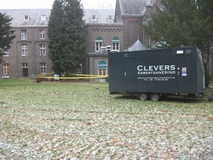 Asielzoekerscentrum Beaxem Clevers Asbestsanering