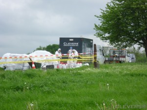 Dumping Kerkrade Clevers Asbestsanering